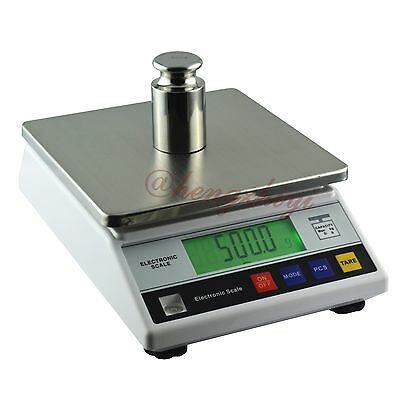 Digital 7.5kg x 0.1g Durable Electronic Precision Lab Scale Balance w Counting