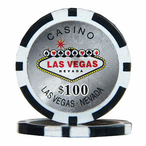 Used las vegas poker chips