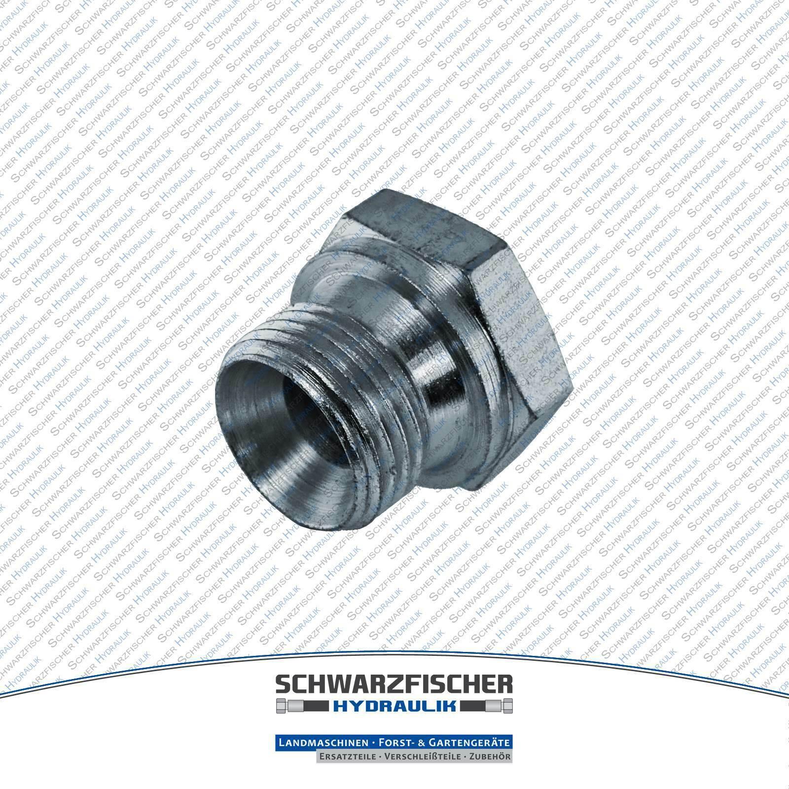 Verschlussschraube BSP Adapter Zoll Hydraulikverschraubung Größe wählbar
