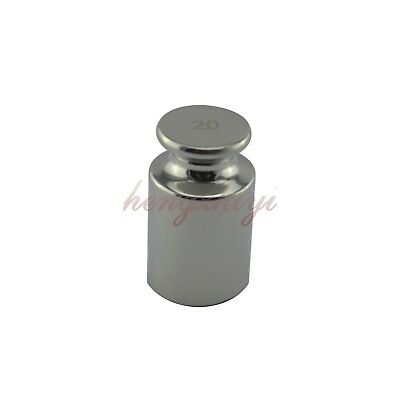 F1 Class 20G 304 Stainless Steel Calibration Weight w Certificate Scale Weights