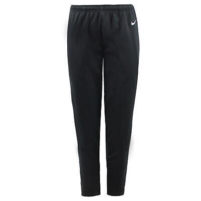 Nike Womens Track Pants Zip Leg Casual Lounge Pants Black 270348 010 S
