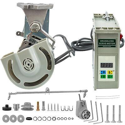 Motor de Máquina de Coser 750W Servo Motor sin Escobillas Velocidad 4500RPM