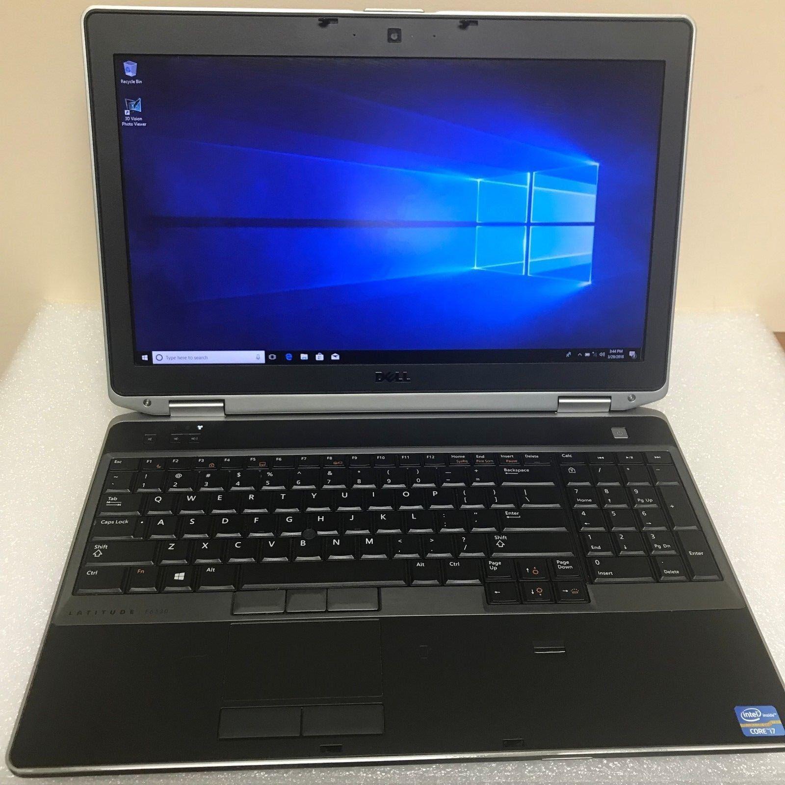 DELL LATITUDE E6530 15.6  i7-3520M 8GB 500GB  WIN10 1600x900