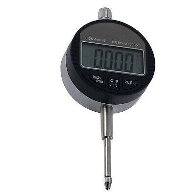 New 0.01mm.0005 Range 0-25.4mm1 Gauge Digital Dial Indicator Usa Sell