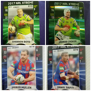 2017 NRL Xtreme card Zillmere Brisbane North East Preview