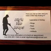 Metal detector for hire