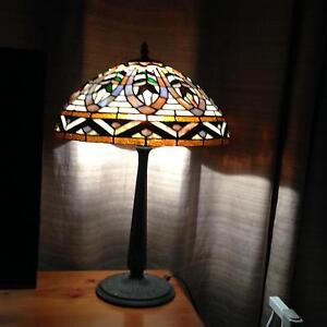 A pair of Tiffany style table lamps Pagewood Botany Bay Area Preview