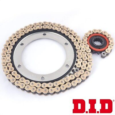 TRIUMPH 1050 TIGER 2009 DID GOLD VX CHAIN AND SILENT SPROCKETS KIT