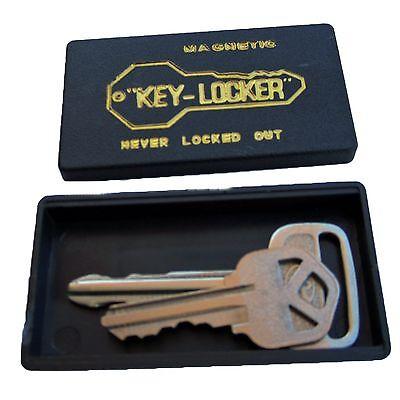 Magnetic Key Holder/Locker for Spare Keys - Prevents Lockouts!