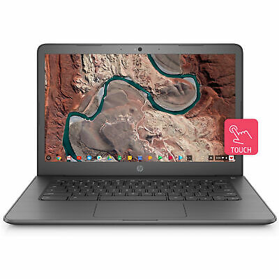 "HP Chromebook 14"" Inch Notebook Laptop with 4GB RAM, Touchscreen and Chrome OS"