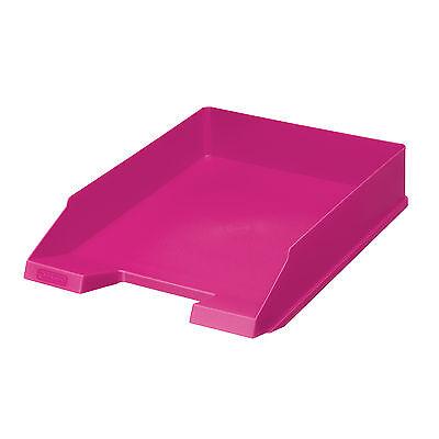 Herlitz Briefablage classic A4-C4 Color Blocking cool pink , Ablagekorb