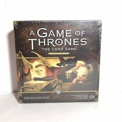 Game of Thrones: The Card Game 2nd Edition Officially Licensed NIB Sealed