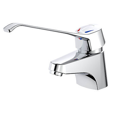 Caroma NORDIC CARE BASIN MIXER Drip Free,Long Lever,WELS 5Star,Auto Temp Control
