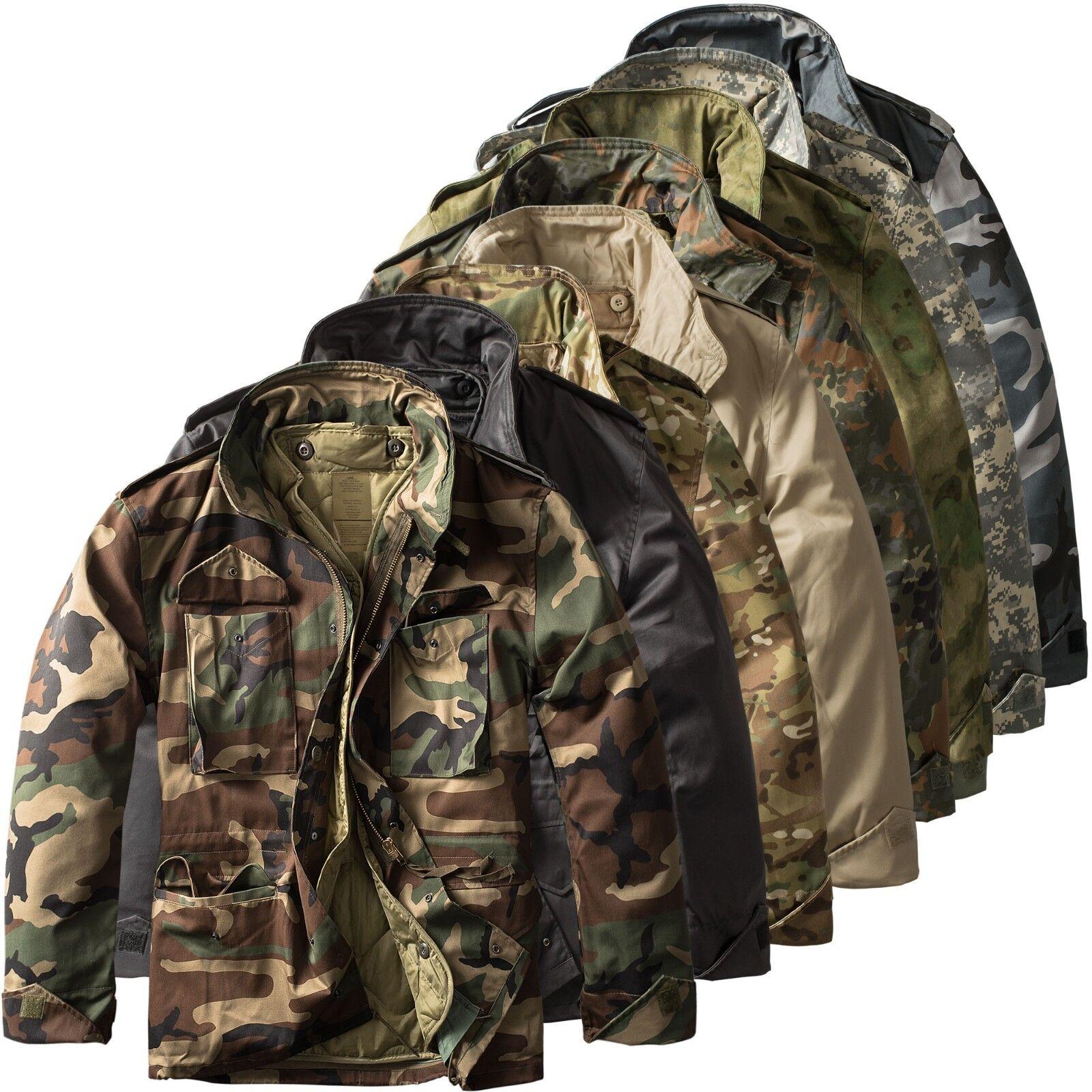 M65 Fieldjacket flecktarn S-5XL mit Futter Tarnjacke Feldjacke Jagdjacke Parka Bekleidung Jacken & Mäntel