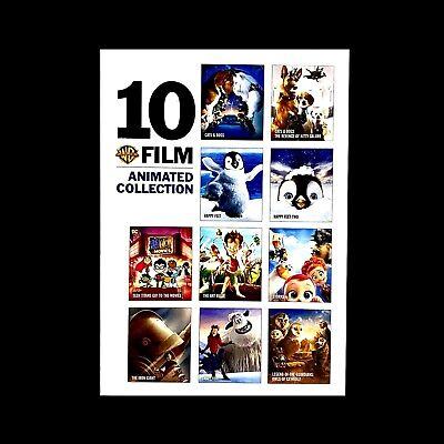 10 Film Animated Collection (DVD, 2019, 6 Disc Set)