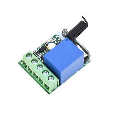 433MHZ Relay DC12V 10A 1CH Wireless RF Remote Control Switch Receiver Dc 12v Wireless Remote