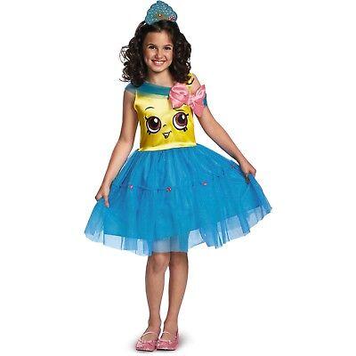CUPCAKE QUEEN Shopkins Costume Dress Girl Medium (8-10) by Disguise](Teen Cupcake Costume)
