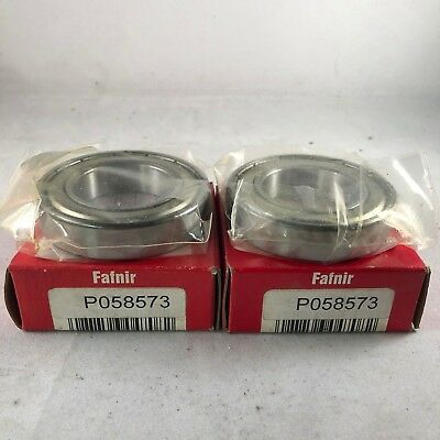 Fafnir 9107kd Ball Bearings - Lot Of 2- New