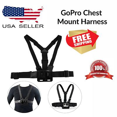 chest strap mount harness belt elastic body