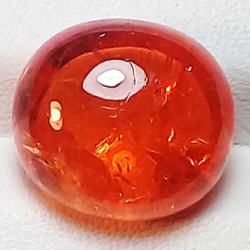 10.60CT BEAUTIFUL  NATURAL FANTA ORANGE  SPESSARTITE GARNET CAB LOOSE GEM