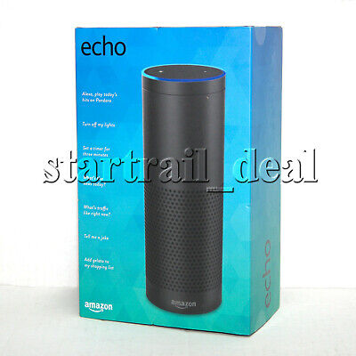 NEW Amazon Echo Bluetooth Wi-Fi Smart Speaker with Alexa 1st Generation Black