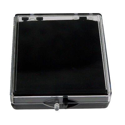 Blank Plastic Pin Presentation Display Case Acrylic Hinged Box 2 38 X 2 12