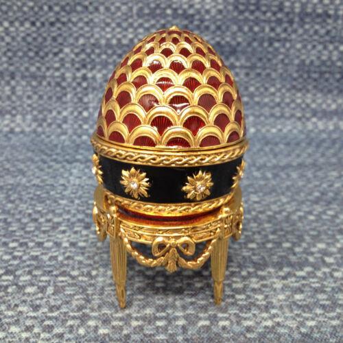 Edgar Berebi Egg Carriage Trinket Box Encrusted JewelsLimited Edition EUC