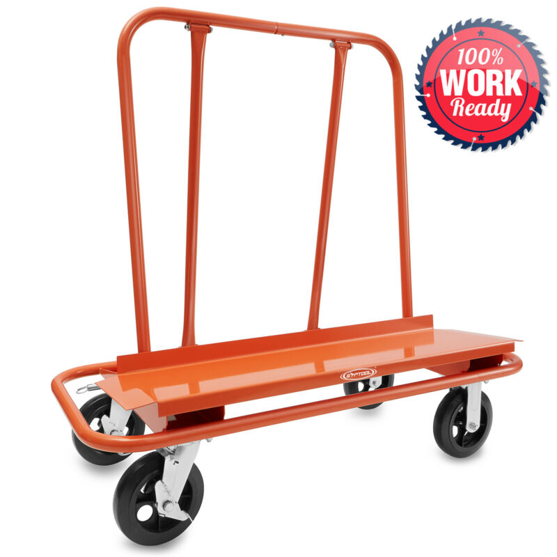 Drywall Dolly Heavy Duty Sheetrock Panel Cart Trolley Plywood Truck