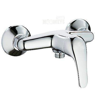 Brausemischer Einhebelmischer Duscharmatur Brausearmatur Wasserhahn Dusche Chrom