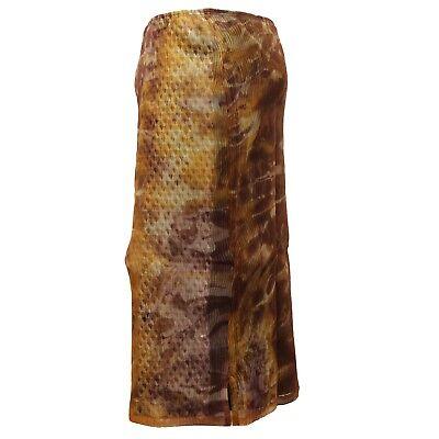 D6188 gonna donna CUSTO BARCELONA marrone brown skirt woman