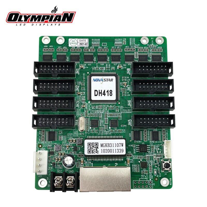 Novastar DH418 LED Receiving Card (8 HUB75E Output)