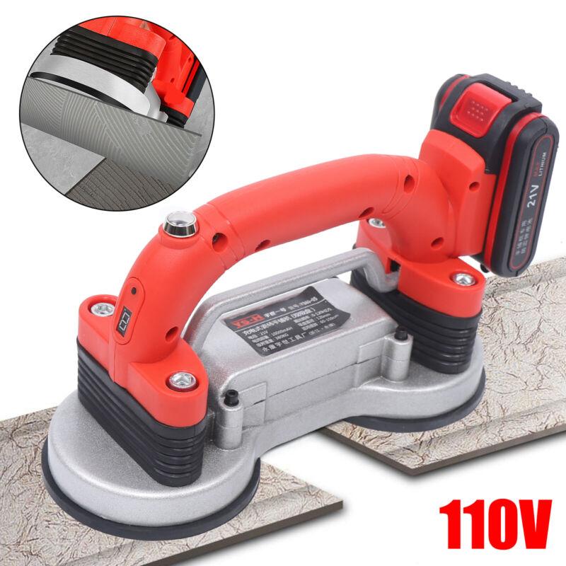 Double Suction Cup Tile Tiling Machine Floor Paving Leveling Tool Tile Vibrator