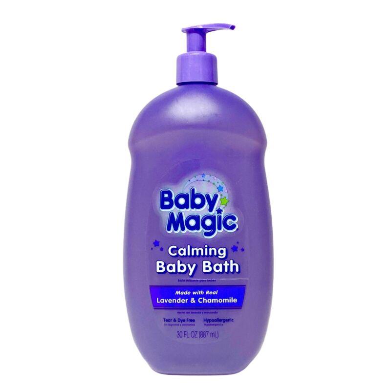 Baby Magic Calming Baby Bath, Lavender and Chamomile, Hugh 30oz Bottle