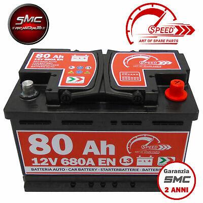 Batterie Starterbatterie Autobatterie Akku Speed L380 80ah 730A