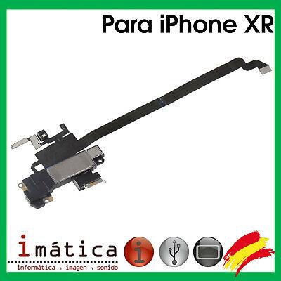 AURICULAR SUPERIOR PARA APPLE IPHONE XR REPUESTO OIDO ALTAVOZ 10 FLEX MICROFONO