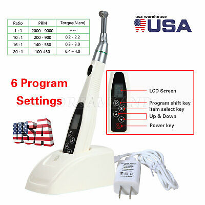 Offer Dental Cordless Endo Motor Reduce 161 Rotary Head Fit Nsk Root Canal