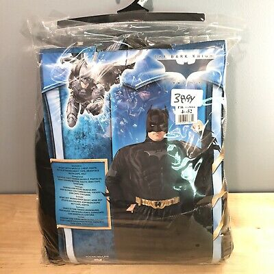 Knight Costume For Adults (Batman: The Dark Knight Rises Muscle Costume Deluxe for Adults, Plus)