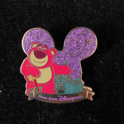 HTF!HKDL Disney Lotso Bear 9th Castle Tin pin(lot set Toystory Woody Buzz LGM )