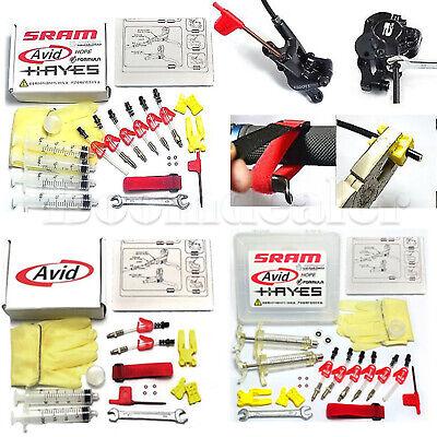 Bicycle Hydraulic Disc Brake Bleed Kit Tools for AVID Formula HYGIA USAGI HAYES