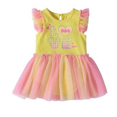 DC Comics Batgirl Baby Girls Bodysuit Tutu Dress Costume 6-9M, 12M, 18M, 24M - Infant Batgirl Costume