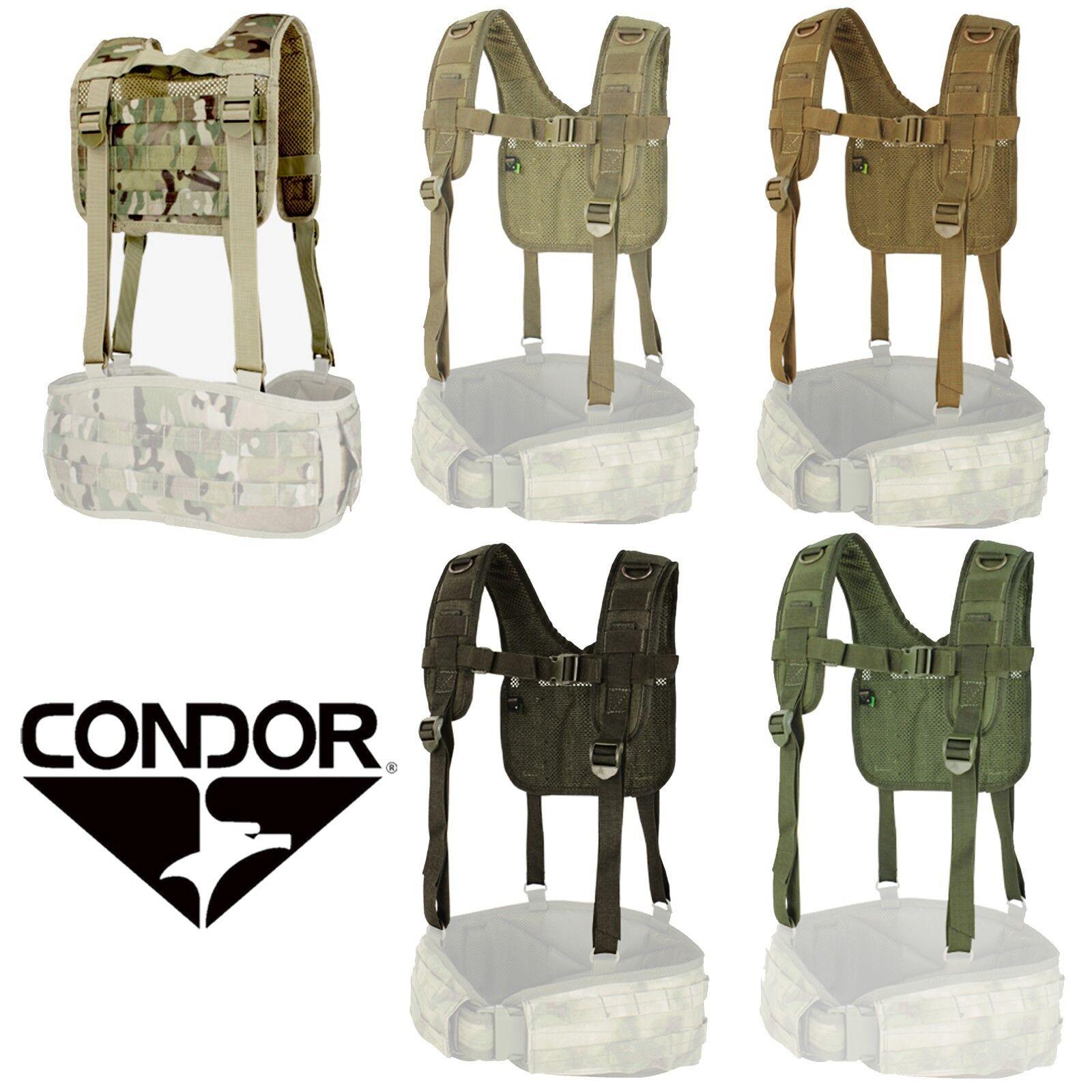 Condor 215 Tactical Adjustable H-Harness Suspenders for 241 Gen II