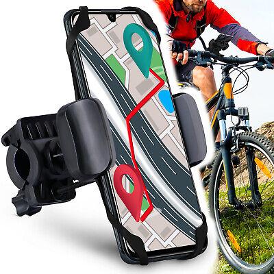 Universal Rotaci/ón 360/° Desmontable Soporte Manillar de Silicona Soporte Movil para Bicicleta Motocicleta Ciclismo GPS Nacigatore para iPhone 11 8 Plus X XS MAX XR Samsung Soporte Movil Bicicleta