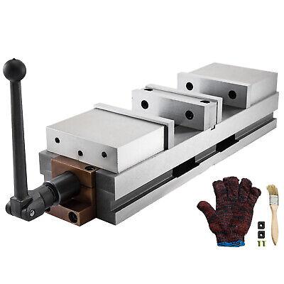 6 Cnc Precision Vise Double Station Double Lock Milling Drilling Machine