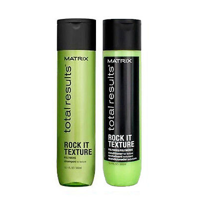 Matrix Total Results Rock It Texture Shampoo and Conditioner 10.1 oz.  Duo