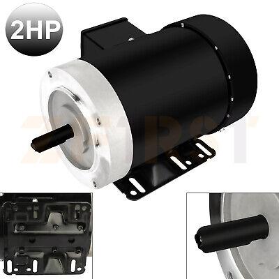 2 Hp Air Compressor Electric Motor 3 Phase 56c Frame 3450 Rpm Tefc 230460v