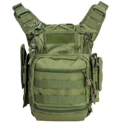 NcSTAR OD Green First Responder EMT EMS Medic Utility Pistol Gun Bag Backpack