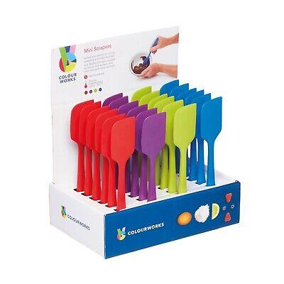 Colourworks kitchenCraft  Silicone Mini Scraper 20cm