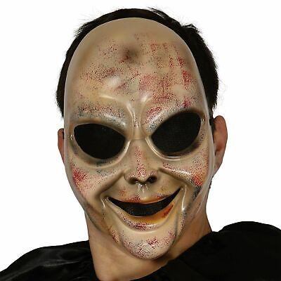 Gruselig Scary Psychopath Kind Baby Killer Puppe Purge Maske Kostüm Halloween