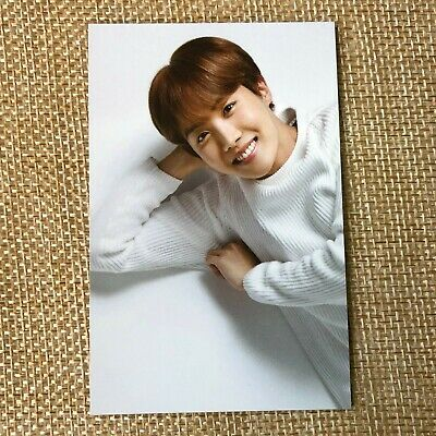 BTS J-HOPE #2 [ VT Think Your Teeth Official Photocard Black , White ] NEW /+GFT