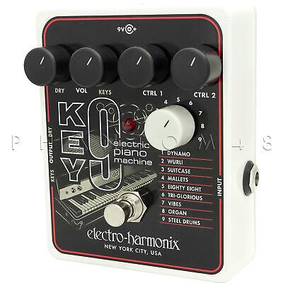 Electro-Harmonix Key 9 Electric Piano Keyboard Guitar Synth Effects Pedal NEW ()